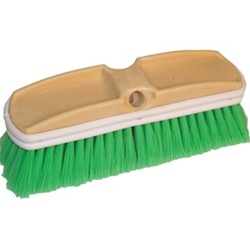 "DQB 9-1/2"" X 2-1/2"" Green Polyester Car Wash Brush 11722"