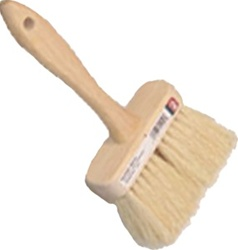 "DQB 4-3/4"" White Tampico Masonry Brush 11940"