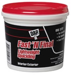DAP Fast-N-Final Spackling Compound