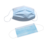 Pleated 3-Ply Disposable Face Masks