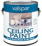 Valspar Interior Latex Ceiling Paint Gallon White 1426