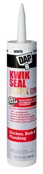 DAP Kwik Seal Ultra Kitchen & Bath Caulk - 10.1 Oz