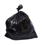 Contractor Clean Up Bags Heavy Duty Large 7-Bushel 3-Mil Thick