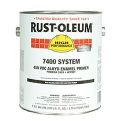 Rust-Oleum High Performance 7400 System High Solids, Quick Dry Low VOC Primer Gallon