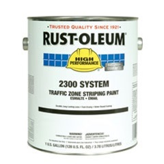 Rust-Oleum High Performance 2300 System Traffic Zone Striping Paint Gallon