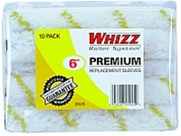 Whizz Premium Gold Stripe Roller Covers 10 Pk