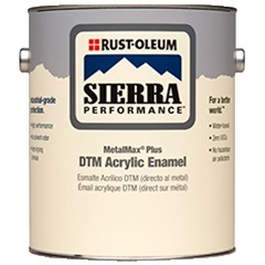 Rust-Oleum Sierra Performance MetalMax Plus DTM Acrylic Enamel Gallon