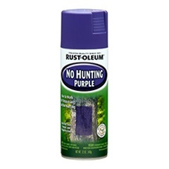 Rust-Oleum Specialty No Hunting Purple 270970