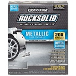 Rust-Oleum RockSolid Polycuramine® Metallic Floor Coating Kit