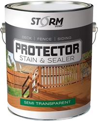 Storm System Protector Semi-Trasnparent Stain & Sealer Gallon