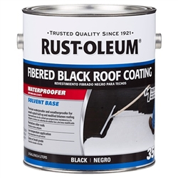 Rust-Oleum 350 Fibered Black Roof Coating