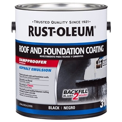 Rust-Oleum 310 Roof and Foundation Coating