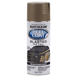 Rust-Oleum Peel Coat Blasted Metal