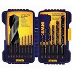 Irwin 15 Pc Black Oxide Drill Bit Set 314015