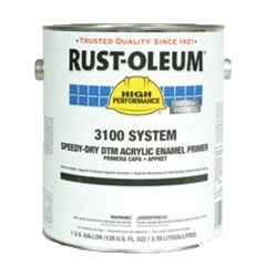 Rust-Oleum High Performance 3100 System Speedy-Dry DTM Acrylic Enamel Primer Gallon