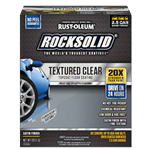 Rust-Oleum RockSolid Textured Clear Topcoat 2.5 Car Kit 317382