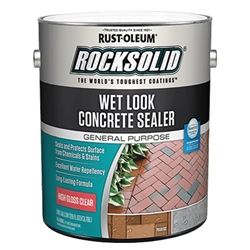 Rust-Oleum RockSolid Wet Look Concrete Sealer Gallon 317927