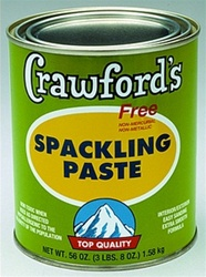 Crawford's Spackling Paste 1 Qt 31904