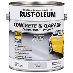 Rust-Oleum Concrete & Garage Clear Finish Topcoat 320202