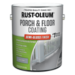 Rust-Oleum Porch & Floor Coating Semi-Gloss Finish Gallon