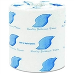 Quality 2-Ply Toilet Paper 500 Sheet White
