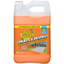 Krud Kutter Concrete & Driveway Pressure Washer Concentrate Advanced Formula Gallon 344235