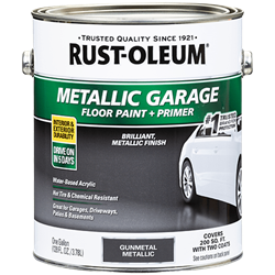 Rust-Oleum Concrete and Garage Metallic Floor Paint Gallon