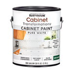 Rust-Oleum Cabinet Transformations Cabinet Paint Gallon Pure White 359025