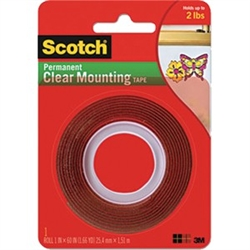 3M Clear Mounting Tape 4010