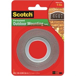 3M Scotch Grey Outdoor Mounting Tape 4011