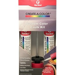 Red Devil Create-A-Color® Caulk Coloring System Kit 4074