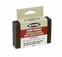 Hyde Tools Foam Sanding Block