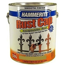 Hammerite Rust Cap Smooth Enamel Finish Gallon