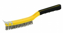 Hyde Tools Wire Brush with Scraper