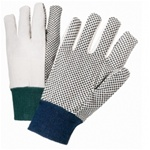 West Chester Canvas Gloves with Dots