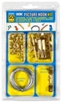 OOK 50 Piece Assorted Picture Hook Kit 59204