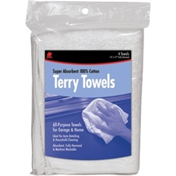 Buffalo Industries 4-Pack Terry Towels 60225