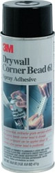 3M 24Oz Drywall Corner Bead Spray Adhesive 61