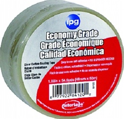 "Intertape Economy Grade Carton-Sealing Tape 2"" X 55 Yards 610C"