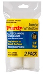 Purdy Jumbo Mini Roller Cover White Dove 2-Pack