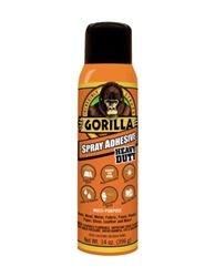 Gorilla Heavy Duty Spray Adhesive 14 Oz 6301502