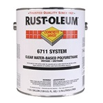 Rust-Oleum Concrete Saver 6711 System Clear Water-Based Polyurethane Gallon 6711402