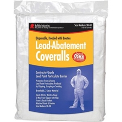 Buffalo Industries Lead Abatement Coveralls