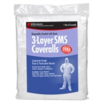 Buffalo Industries SMS 3-Layer Coveralls