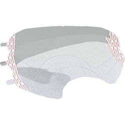 3M Lens Cover for 6000 Series Full-Face Respirator 10-Pack 6885P10-C