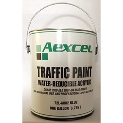 Aexcel Water-Reducible Acrylic Traffic Paint