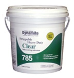 Gardner-Gibson Dynamite 785 Heavy Duty Clear Strippable Wallcovering Adhesive