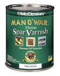 McCloskey Man O'War Spar Marine Varnish