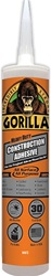 Gorilla Heavy Duty Construction Adhesive 9 Oz 8010003