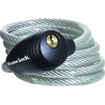 Master Lock 5' Cable with Key Lock 8109D